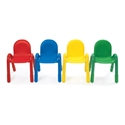 BaseLine Stack Chair stack chair, childrens chair, plastic. chair, metal